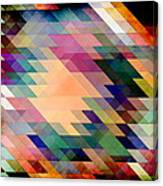 Triangles And Parallelograms Canvas Print