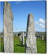 Triangular Callanish Stone Canvas Print