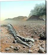Triassic-jurassic Extinction Canvas Print