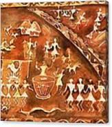 Tribal Art Canvas Print