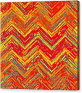 Tribal Pattern 019 Canvas Print