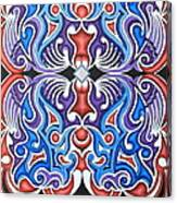 Tribal Symmetry 1 Canvas Print