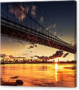 Triboro Sunset Canvas Print