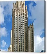 Tribune Tower - Beautiful Chicago Architecture Canvas Print