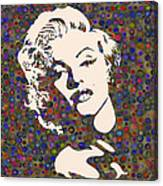 Tribute To Marilyn Monroe Canvas Print