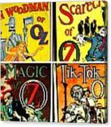 Tribute To Oz Canvas Print