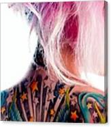 Tribute to Suicide Girls 3 Canvas Print