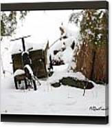 Tricycle Cart Canvas Print