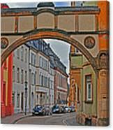 Trier Street Canvas Print