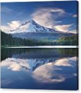 Trillium Lake Escape Canvas Print