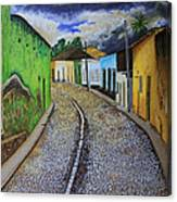 Trinidad Cuba Original Oil Painting 16x12in Canvas Print