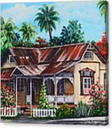 Trinidad House  No 1 Canvas Print