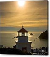 Trinidad Memorial Lighthouse Canvas Print