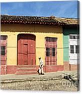 Trinidad Streets Cuba Canvas Print
