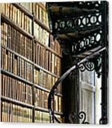 Trinity Collage Library Dublin Canvas Print