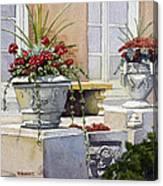 Trinity Geraniums Canvas Print
