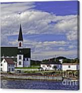 Trinity In Newfoundland Canvas Print