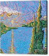 Trinity Lake 2 Canvas Print