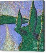 Trinity River Canvas Print