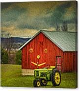 Trip To The Happy Farm Canvas Print