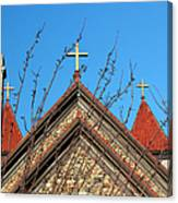 Triple Cross 4 Canvas Print