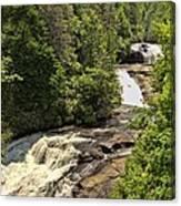 Triple Falls Canvas Print