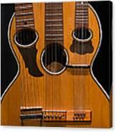 Triple-neck Instrument Canvas Print