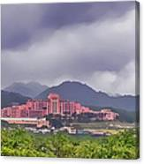 Tripler Army Medical Center Canvas Print