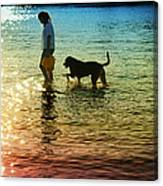Tripping The Light Fantastic Canvas Print