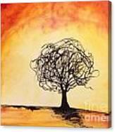 Tripping Tree Canvas Print