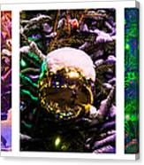 Triptych - Christmas Decoration - Featured 3 Canvas Print