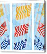 Triptych Sunrise 1 Canvas Print