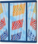 Triptych Sunrise 2 Canvas Print