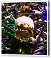 Triptych - Traffic Lights Christmas - Featured 2 Canvas Print