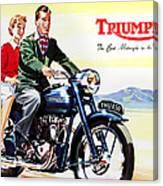 Triumph 1953 Canvas Print