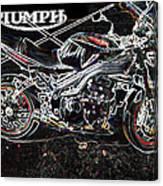 Triumph Abstract Canvas Print