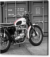 Triumph Bonneville T120 Tt Canvas Print