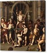 Triumph Des Bacchus Canvas Print