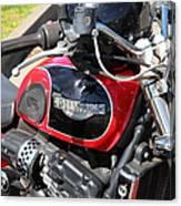 Triumph Motorcycle 5d28101 Canvas Print