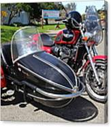 Triumph Motorcycle With Sidecar 5d28099 Canvas Print