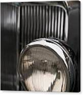 Triumph Roadster One Headlight Canvas Print