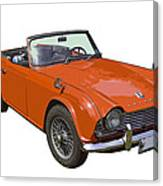 Triumph Tr4 - British - Sports Car Canvas Print