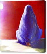 I'm Always Sitting Alone Under The Full Moon  Canvas Print