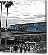 Tron Monorail Wdw In Sc Canvas Print