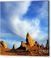 Trona Pinnacles California Canvas Print