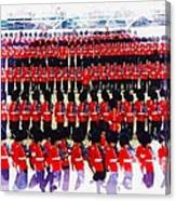 Trooping The Colour Canvas Print