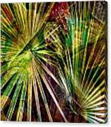 Tropical Abstract Canvas Print