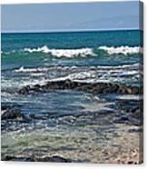 Tropical Beach Seascape Art Prints Canvas Print