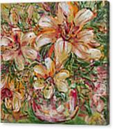 Tropical Beauties Canvas Print