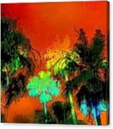 Tropical Blend Canvas Print